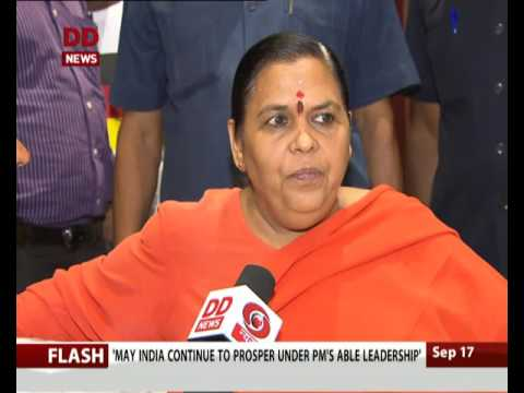 Swachh Bharat: Conversation with Union Minister Uma Bharti on Namami Gange project
