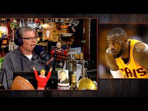 Dan Patrick Explains Why LeBron James Is Not the NBA's MVP (5/22/17)