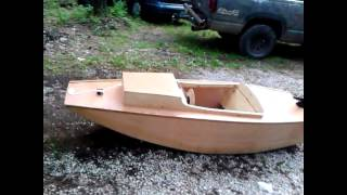 "Wood Boat Project""serenity"""