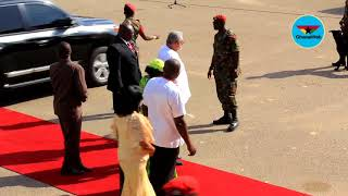Former Presidents Kufuor, Rawlings, others arrive for 61st Independence Parade