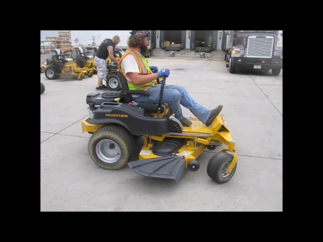 2015 Hustler Raptor SD 934604 ZTR lawn mower for sale | no-reserve Internet  auction July 19, 2017
