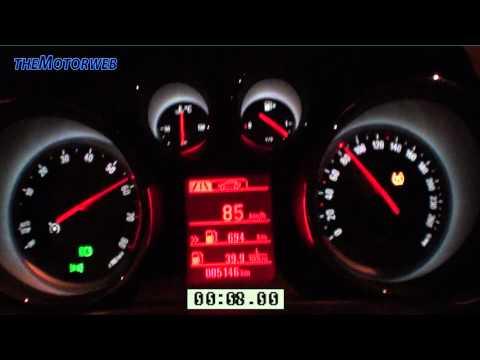Opel Insignia 1.4 Turbo 140 CV - 0-120 Km/h
