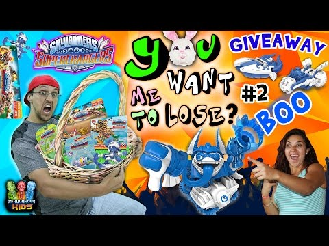 YOU WANT ME TO LOSE? Part 2: MOM vs. DAD 3 Race Challenge! (Skylanders Superchargers Racing)