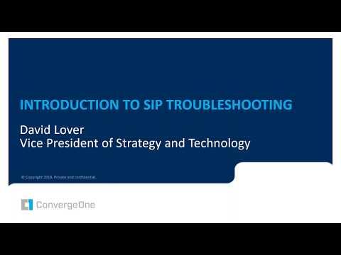 Avaya SIP Troubleshooting