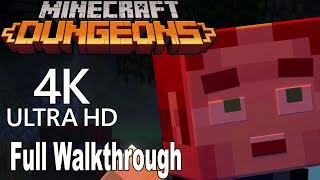 Minecraft Dungeons   Full Gameplay Walkthrough [4k]