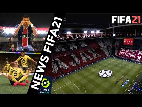 FIFA 21   NEWS - LA LIGUE 1 MODÉLISÉE ? (OM, OL, PSG...)