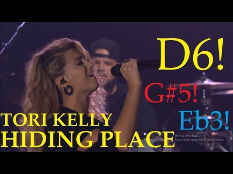 Tori Kelly NEW Vocals 2018 - HIDING PLACE!