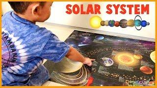 Balita 3 Tahun Hafal Nama-Nama Planet di Galaksi Bima Sakti | Video Edukasi untuk Anak-Anak