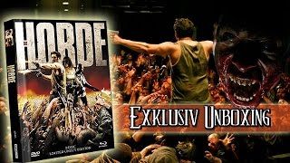 Die Horde - Uncut Limited Edition - Mediabook - Cover A Blu-ray unboxing