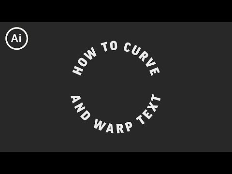 How to Curve & Warp Text | Illustrator Tutorial Mp3
