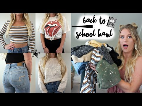 Huge Back To School Try-On Clothing Haul Part 2!! // Brandy Melville, Princess Polly, Etc.