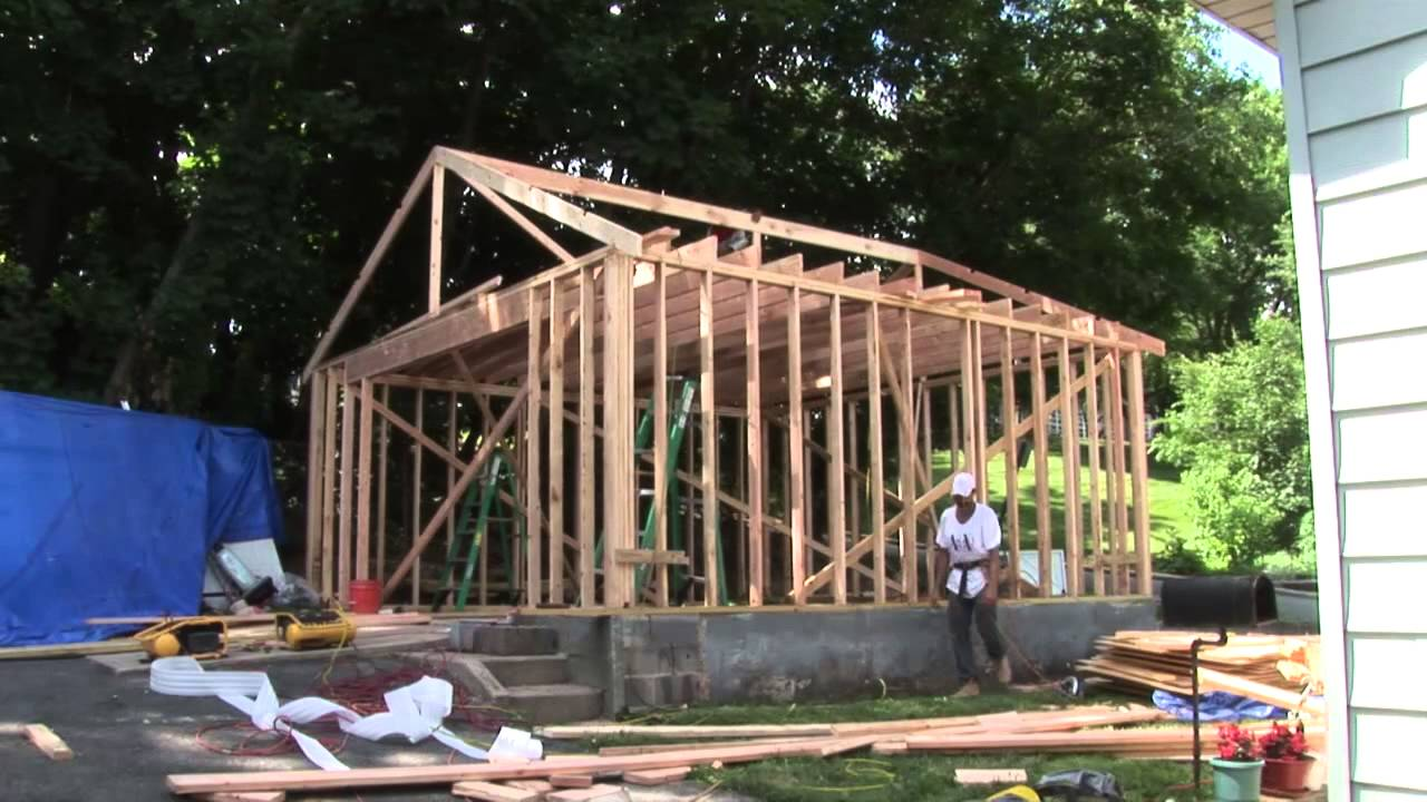 Jc contractor nj garage framing project west orange nj youtube jc contractor nj garage framing project west orange nj solutioingenieria Image collections