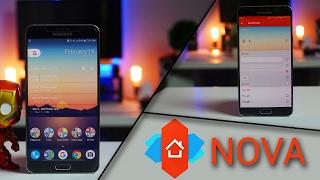 Best Nova Launcher Setup | Detailed | Galaxy Note 5