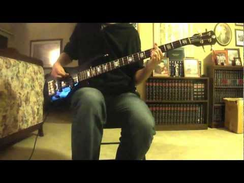 Porcupine Tree - Arriving Somewhere But Not Here Bass Cover