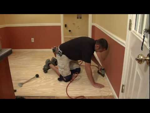 Amtico  Spacia Flooring Installation  YouTube