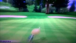 living on a prayer (wii golf shots)