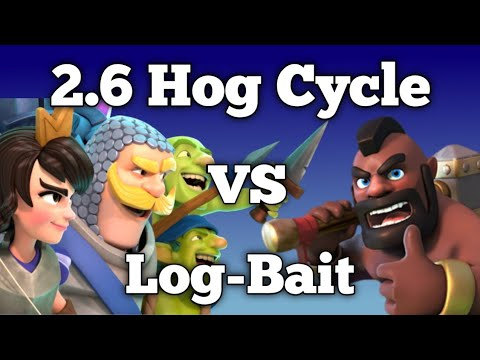 2.6 Hog Cycle Guide - 2.6 Hog Cycle Vs Log-Bait-How To Play 2.6 Hog Cycle Vs Double Barrel Log Bait