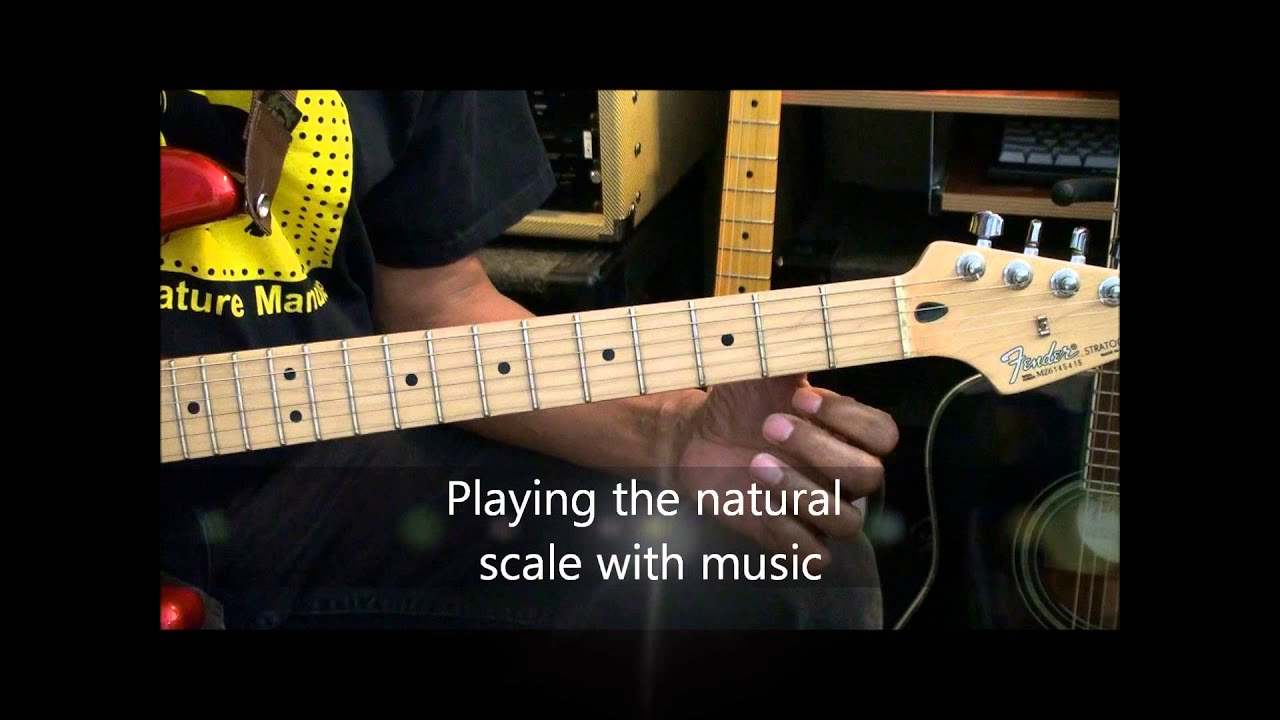 LET\'S TALK SCALES #2 THE NATURAL SCALE How To Play Use ...