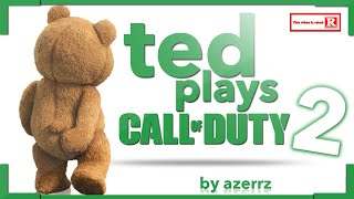 One of Azerrz's most viewed videos: Ted Plays Call of Duty #2!