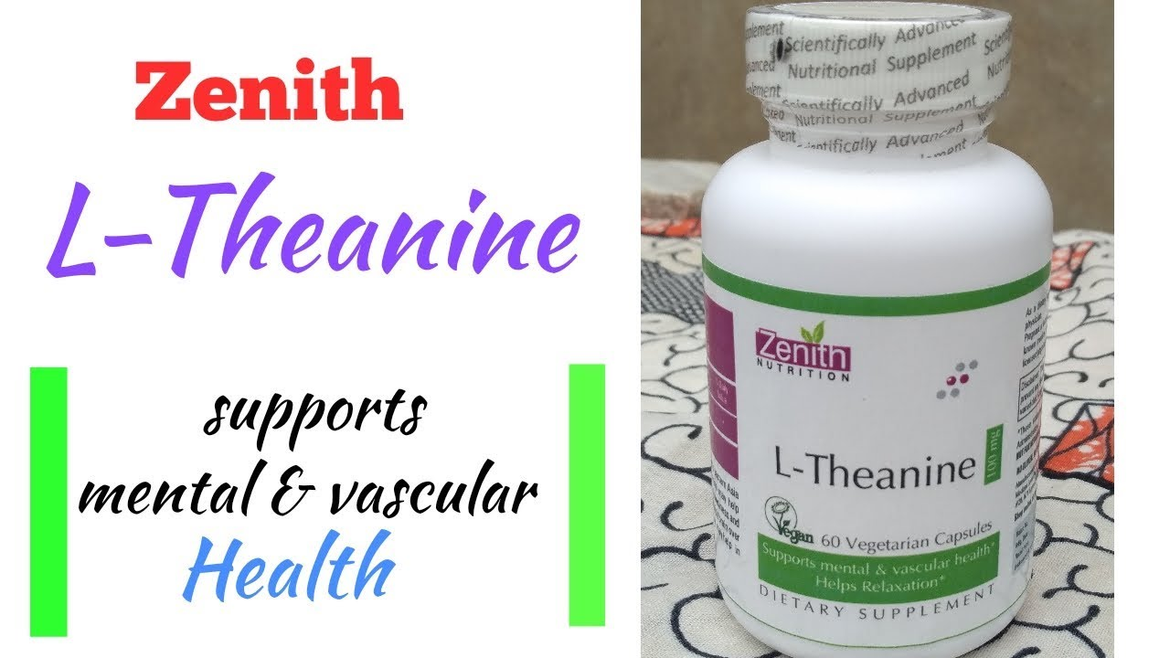 Zenith L Theanine Capsule Review In Hindi Supports Mental