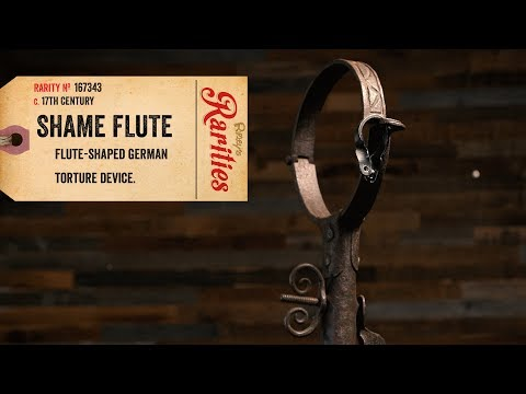 The Flute of Shame: Discover the Instrument/Device Used to Publicly Humiliate Bad Musicians During the Medieval Period