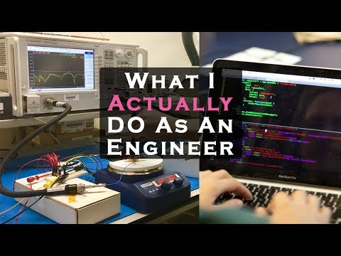 What I do as an Electronics Engineer