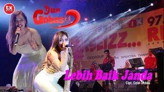 Heboh !!! DUO GOBAS - Lebih Baik Janda Mengoyang Penonton Konser Musik Ekseizz RDI