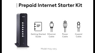 Setting Up Your Xfinity Prepaid Internet Service Using the Self-Install Kit