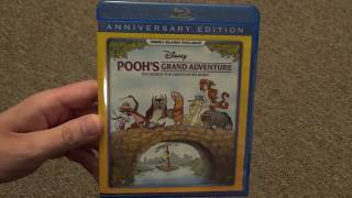 Disney's Pooh's Grand Adventure: The Search for Christopher Robin DMC Blu-Ray Unboxing