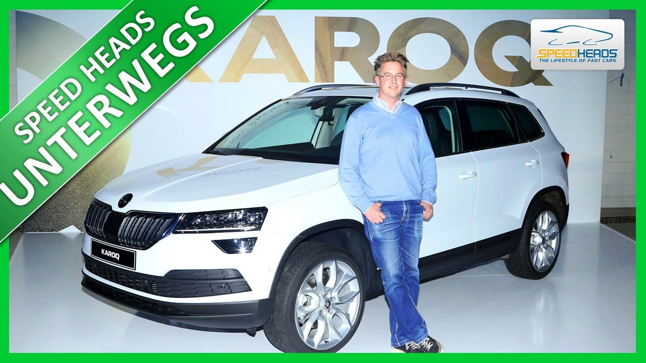 weltpremiere sitzprobe im skoda karoq 2018 yeti. Black Bedroom Furniture Sets. Home Design Ideas