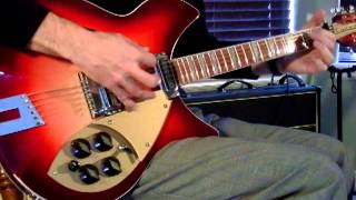 """The Who: """"I Can See for Miles"""" on 2009 Rickenbacker 360/12 C63 & Vox AC30"""