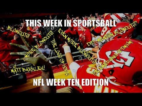 This Week in Sportsball: NFL Week Ten Edition (2018)