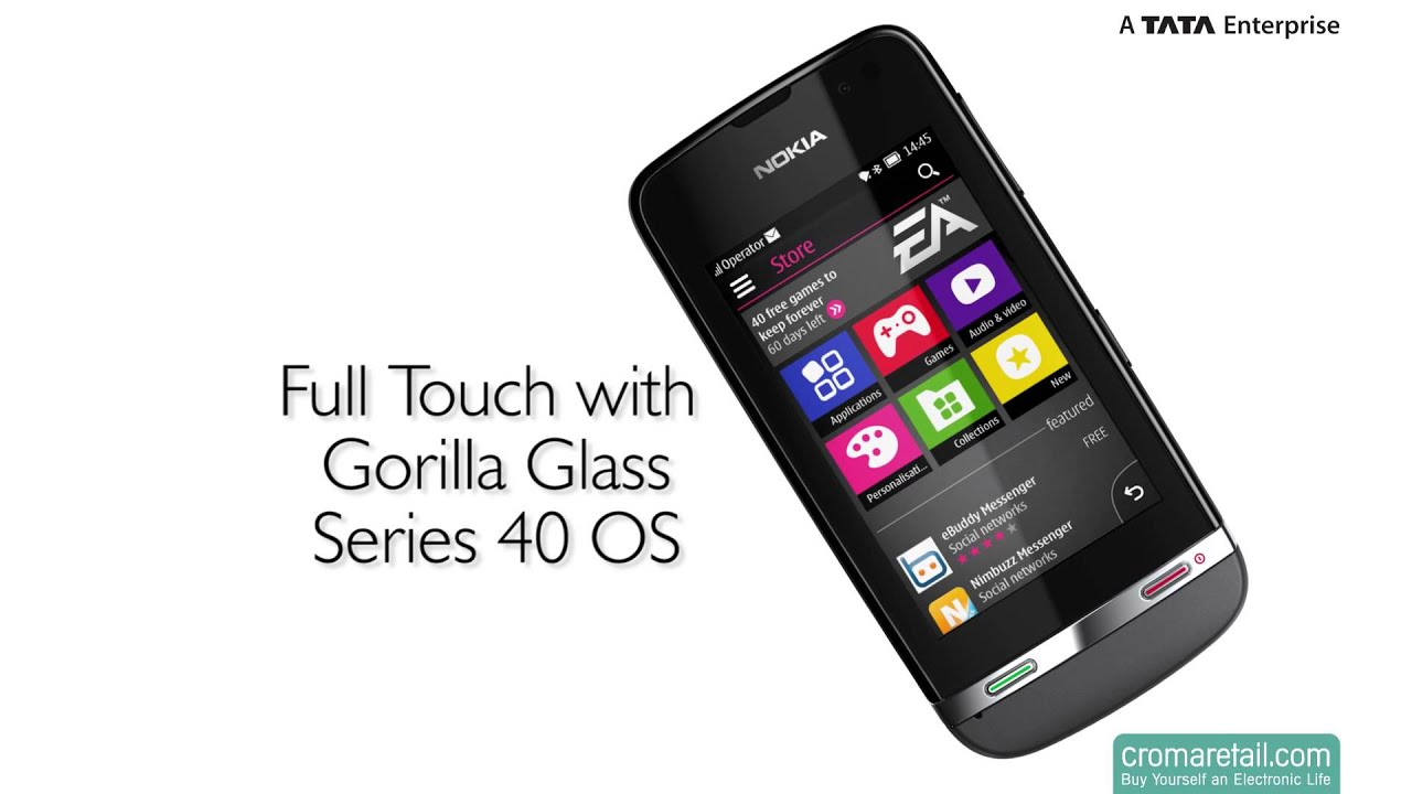 Nokia Asha 311 GSM Mobile Phone (Grey)