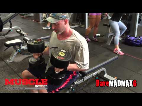 Full Chest And Mini Tris Workout With Eric Broser And MadMax