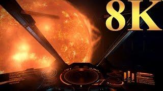 Elite Dangerous 8K Gameplay Titan X Pascal 3 Way SLI PC Gaming 4K | 5K | 8K and Beyond