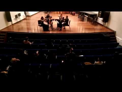 "Antonín Dvořák - String Quartet No.12, ""The American"" - Eurasia Quartet 2015"