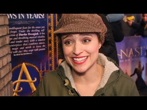 Join Christy Altomare in Celebrating ANASTASIA's 20th Anniversary
