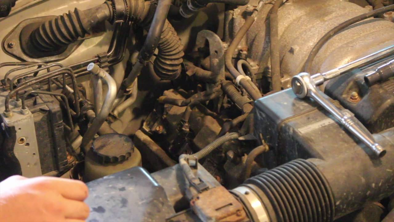 2002 toyota sequoia ignition coil replacement [ 1280 x 720 Pixel ]