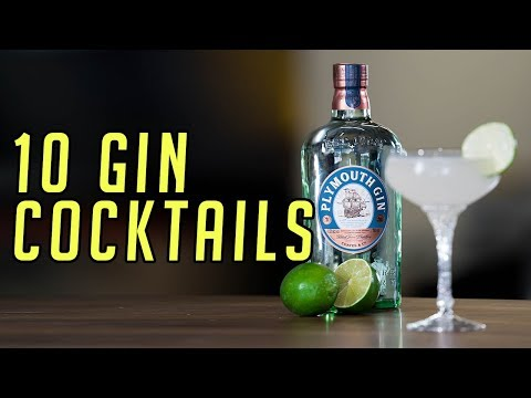10 Gin Cocktails You Should Know || Gent's Lounge