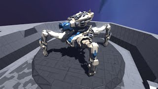 space engineers giant quadruped release the ivory queen