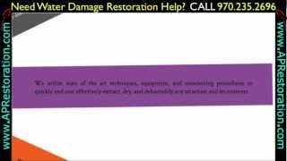 Water Damage Restoration Greeley | 970.235.2696