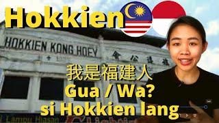 Malaysia Hokkien vs Indonesia Hokkien