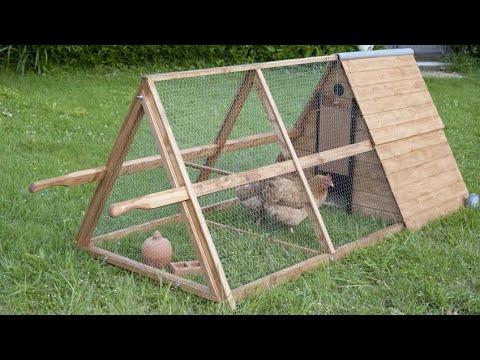 Construir un gallinero móvil - Bricomania