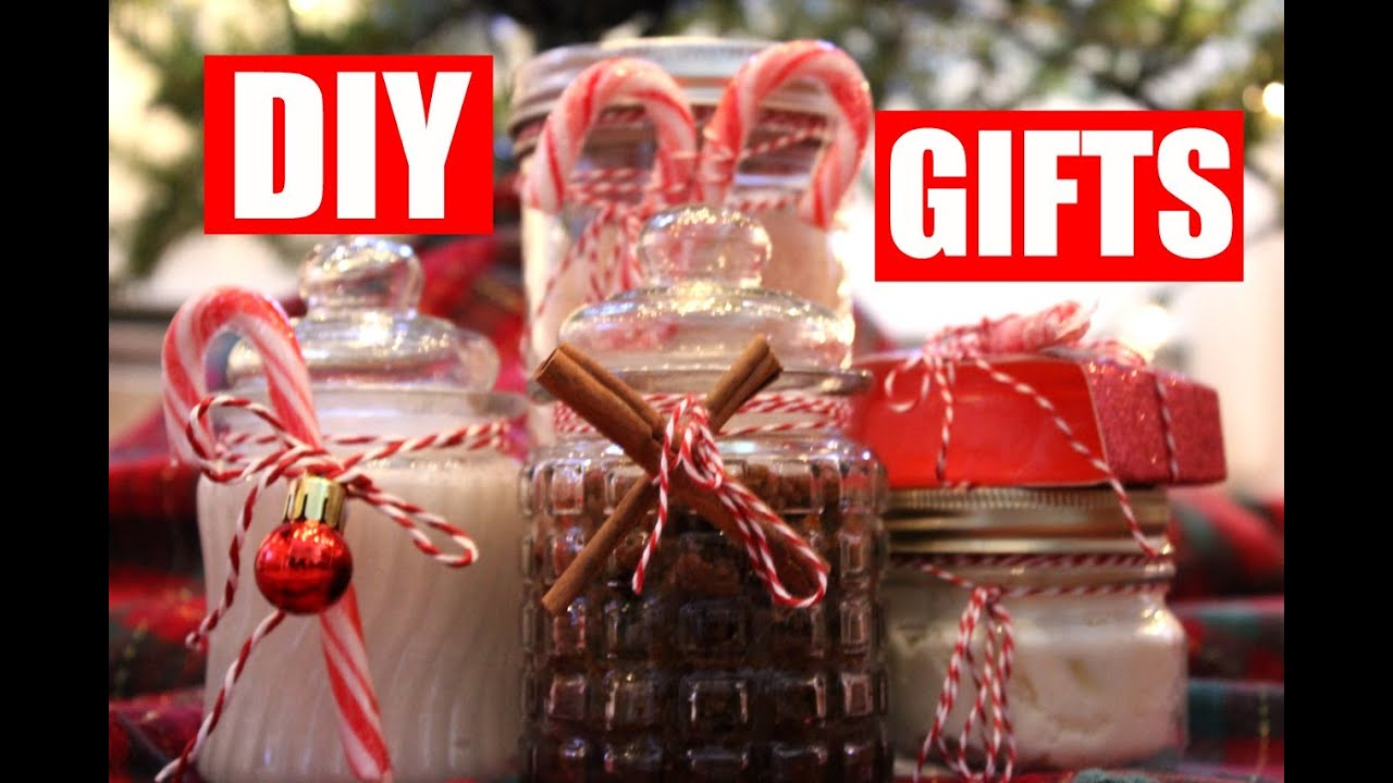 5 Easy Diy Christmas Gift Ideas Diy Beauty Gifts For Her