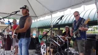 Chris Sacks Band performing Tropical Recharge