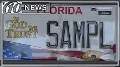 Where does money for Florida specialty license plates go?