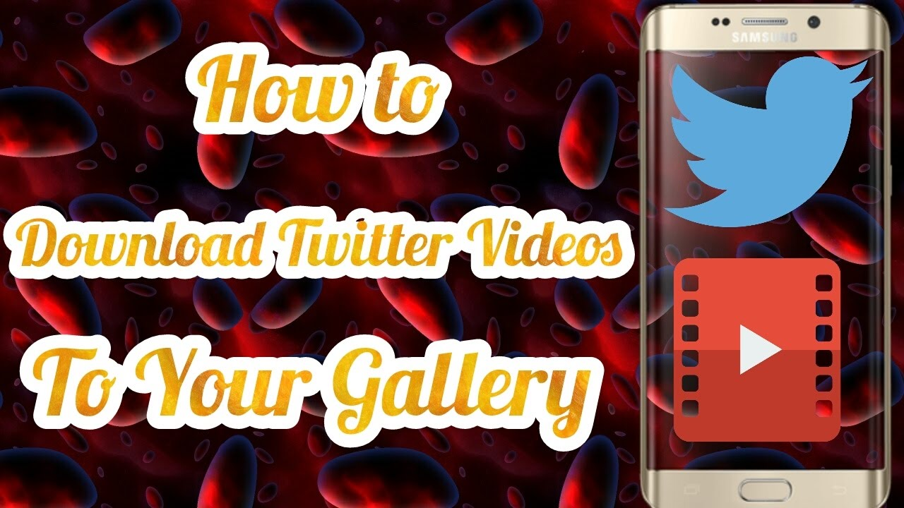 how to save twitter videos on your phone