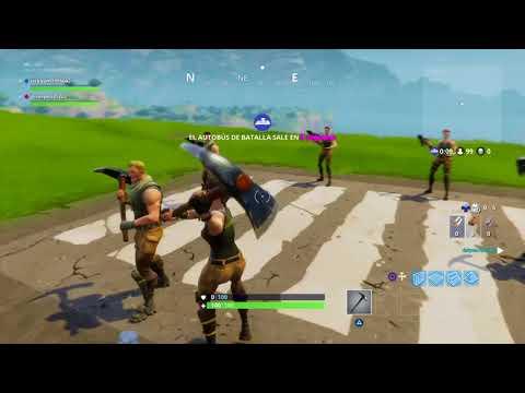 Epica victoria en fortnite con ricky0007 gamer