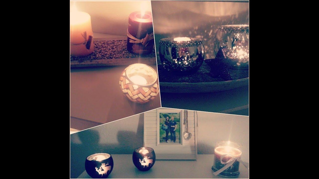 weihnachtsdeko verlosung so habe ich meine wohnung umdekoriert youtube. Black Bedroom Furniture Sets. Home Design Ideas