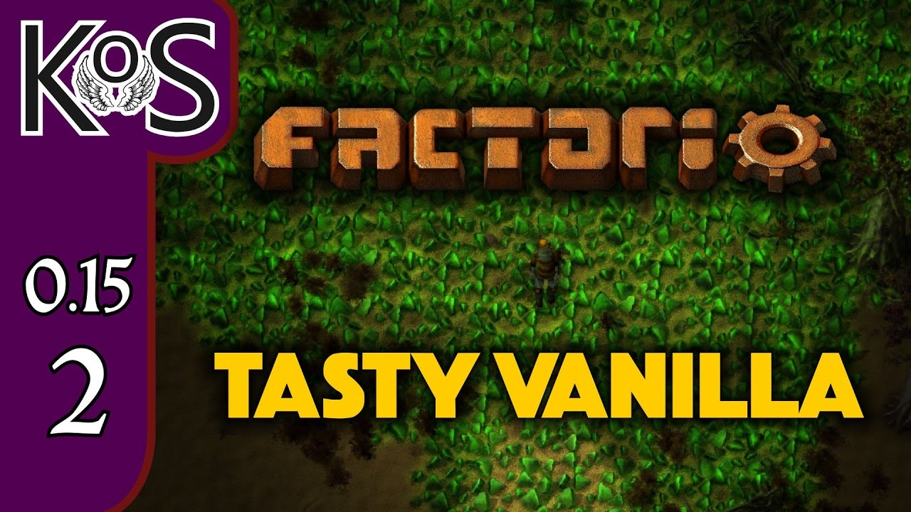 Factorio 0 15 Tasty Vanilla Ep 2: Coal Power - Let's Play, Gameplay